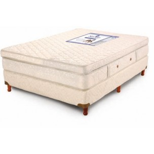 Sommier 200x200 Resortes Meridien Extrafirme con Pillow