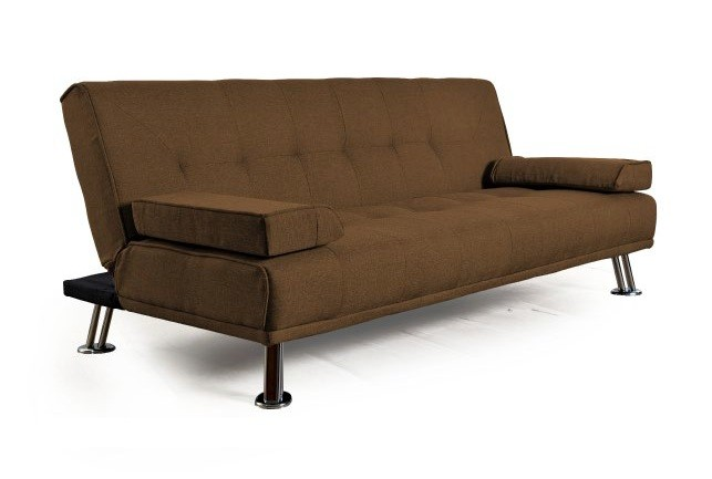 Sillon Futon Cama City Reclinable Beige