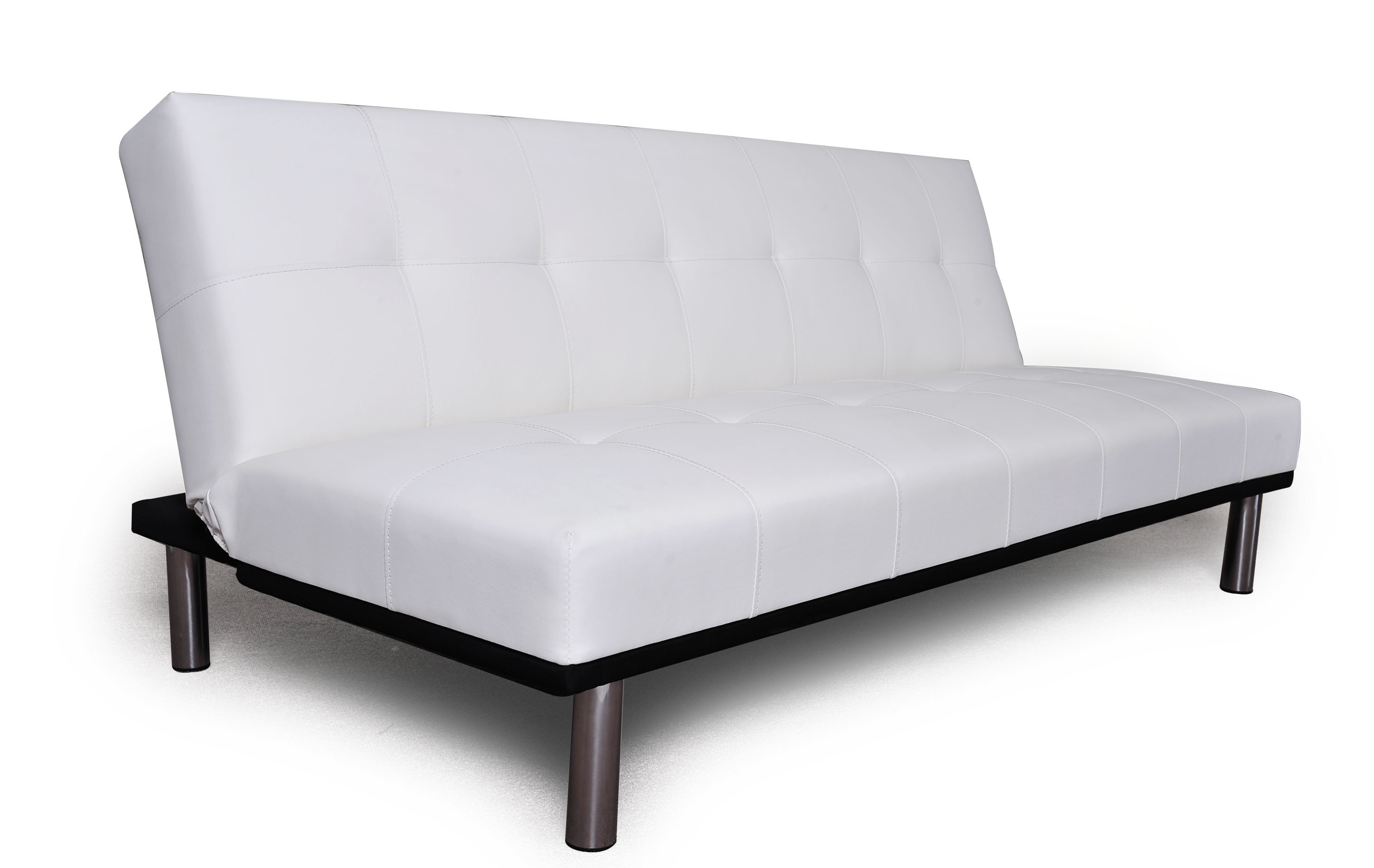 Sillon Futon Cama Zen Reclinable Blanco