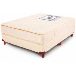 Colchon 200x200 esp. 25 cm Resortes Madison