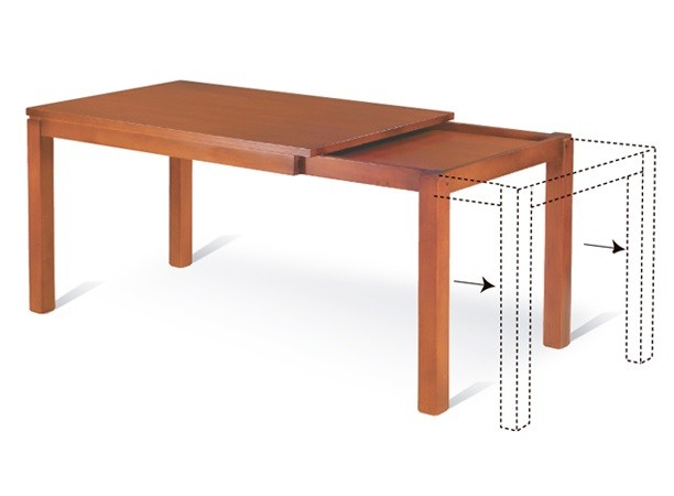 Mesa extensible - ME/12 - Lustre Roble
