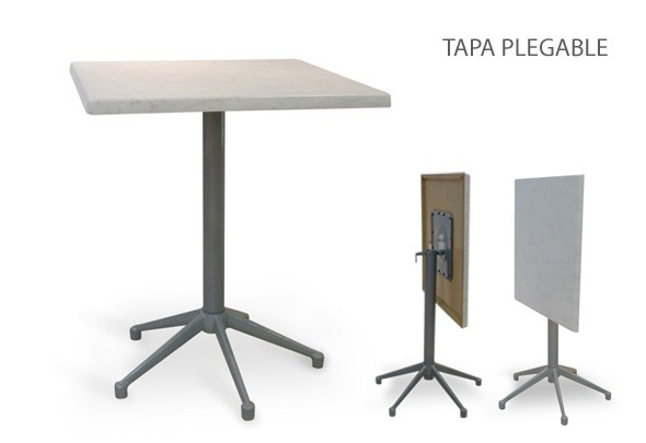 Mesa de metal /5 convertible - American Wood