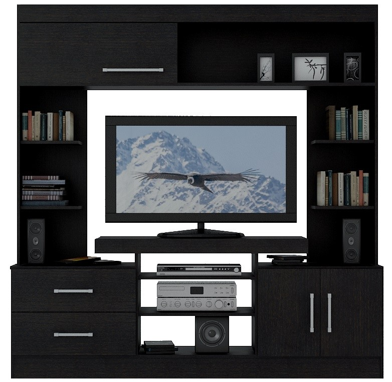 Rack TV - Mueble TV MO7201 Wengue
