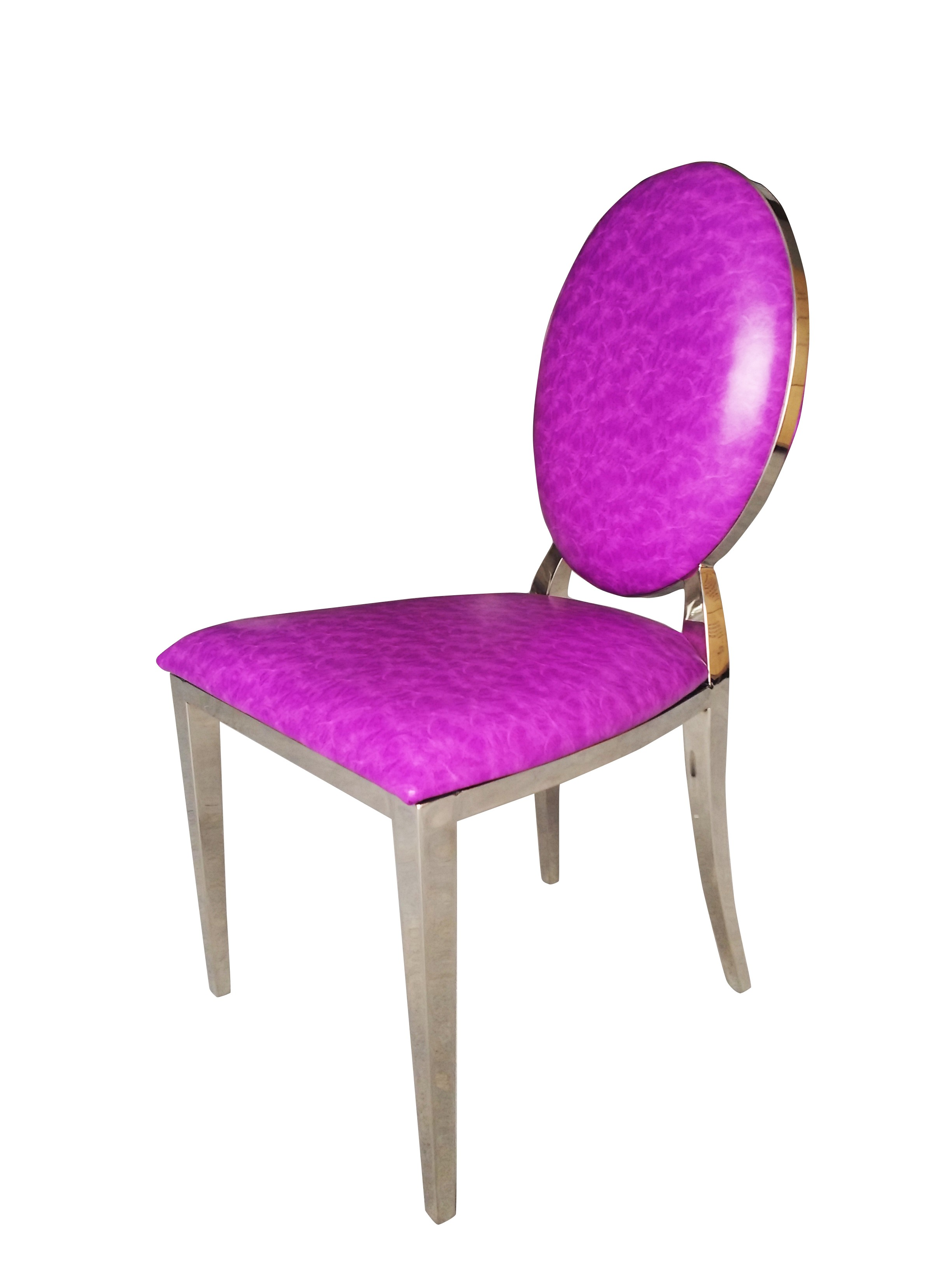 Silla Chrome FT83 Fucsia Simil Cuero