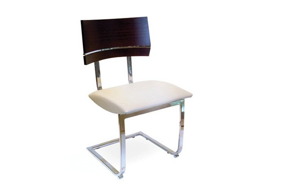 American Wood - Silla de Metal /2 - Frente