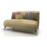 Sofa Paris American Wood Marfil [140marfil]