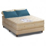 Colchon 190x180 Resortes Elite con Pillow Doble