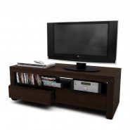 Mueble TV American Wood lustrado wengue