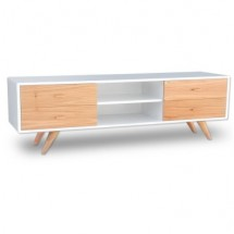 Mesa de TV Nordica Malmo 4 cajones natural 180