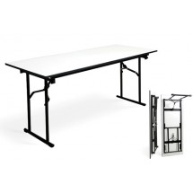 Mesa De Metal /10 Plegable