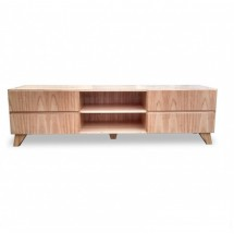 Mesa de TV Nordica Oslo 4 cajones natural 150