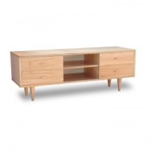Mesa de TV Nordica Oulu 4 cajones natural 150