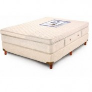 Colchon 190x150 Resortes Meridien Extrafirme con Pillow
